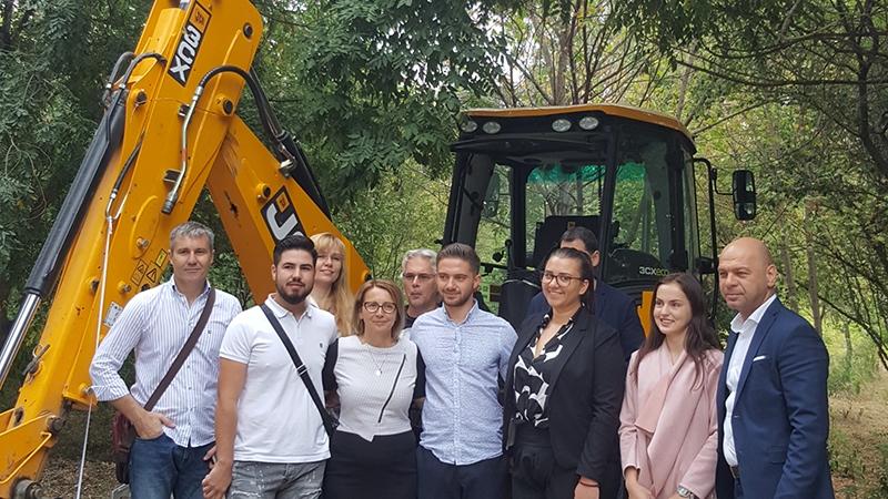 Участие във възстановяването на Университетската ботаническа градина