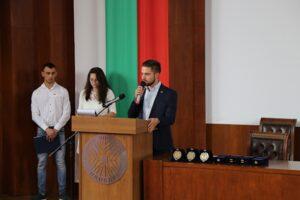 Студентски съвет при Аграрен Университет – Пловдив участва в честването на 24 Май